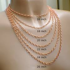 copper necklace chain images 18 inch 38mm copper necklace chain oval cable style 18 chain jpg