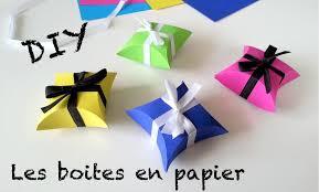 petits cadeaux anniversaire diy création boites à cadeaux en papier saint valentin youtube