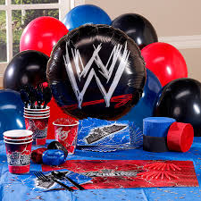 Personalized Party Decorations Wwe Personalized Party Theme 83880 Joses Birthday Party 2014