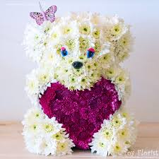 unique gifts made of fresh flowers toy florist com toy florist