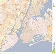 Nyc City Map New York City Map Stock Photo Image Of Bronx Courses 54893296