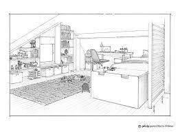 chambre en perspective dessin en perspective d une chambre stunning chambre en