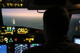 virtual aviation flight simulator training