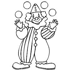 clown coloriage clown en ligne gratuit a imprimer sur coloriage