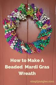 mardi gras bead wreath 1000 images about mardi gras partying planning on rum