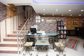 Hotel Lobby Reception Desk by Fors Hotel Istanbul Sultanahmet Hotel Motel Otel Istanbul