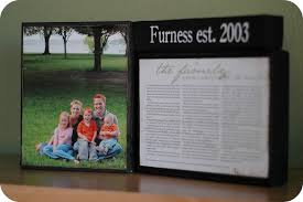 framed family proclamation ruffled proclamation to the family mini tutorial