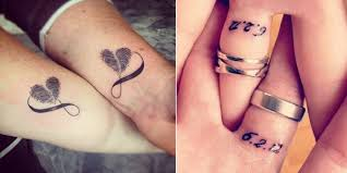 unique matching tattoos for couples best tattoo 2017