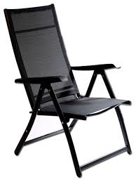 heavy duty adjustable reclining folding chair contemporary
