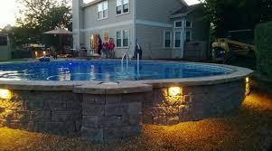 above ground pool landscape pinterest ground pools