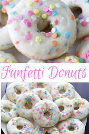 funfetti cake mix donuts leah with love