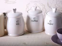 kitchen tea coffee sugar canisters charm white tea coffee sugar jars kitchen side storage canisters