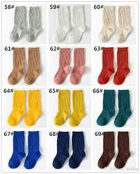 newborn toddler knee high socks baby boy socks anti slip cute