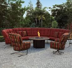 o w lee monterra outdoor sectional sofa with cushions wilson u0027s