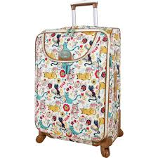 Lilly Bloom Lily Bloom Furry Friends 24 In Expandable Spinner Luggage