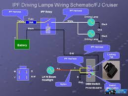 wiring front bumper led driving lights toyota fj cruiser forum