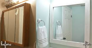 Framing Bathroom Mirrors Diy - diy pallet framed mirror u create