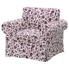 Ikea Ektorp Armchair Cover Ikea Ektorp Chair Cover Hovby Lilac Lila Purple Armchair Slipcover