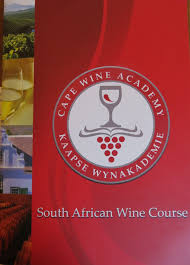 south african wine course notes from cape town