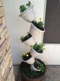 Diy Vertical Herb Garden Diy Topsy Turvy Herb Garden