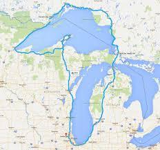 Lake Michigan Shipwrecks Map by Motorcycle Trip Around Great Lakes U2013 Raj Chacko U0027s Blog