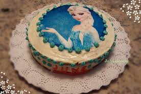 tarta elsa frozen julycatessen