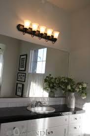 Over Mirror Bathroom Lights by Painted Bathroom Lighting Fixtures Over Mirror Interiordesignew Com