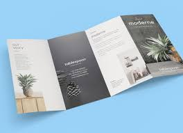 Home Decor Brochure Four Fold Brochure Templates Free Download D Templates