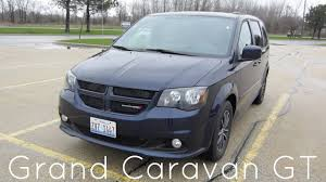 dodge rent a car 2017 dodge grand caravan gt minivan rental car review