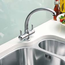 franke zurich kitchen sink mixer tap chrome plumbworld