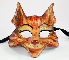 authentic venetian masks authentic venetian mask made in italy animal fox costume home