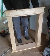 Interior Window Trims Ana White Farmhouse Style Window Trim From Pine Boards Diy