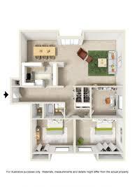 floor plans clay court apartments