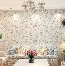 wallpaper dinding kamar vintage 3d murals soundproof heat insulation vintage floral wallpaper for