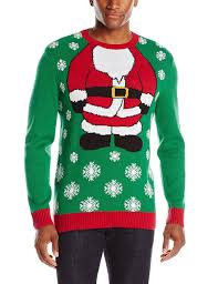 mens light up ugly christmas sweater the ugly christmas sweater kit men s santa light up ugly christmas