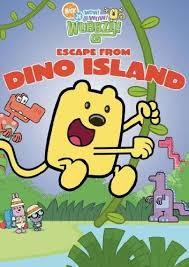 wow wow wubbzy escape dino island dvd 2010 ebay