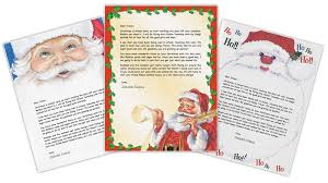 letters from santa claus letter from santa create personalized printable santa letters