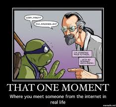 Tmnt Memes - that one moment meeting internet stranger tmnt memes pinterest