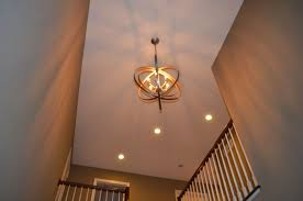 Contemporary Foyer Chandelier Very Nice Foyer Lighting Fixtures All Home Decorations