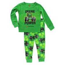 deere infant pajamas set