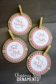 craftaholics anonymous song ornaments free printable