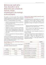 redevance bureaux note de conjoncture mars 2012