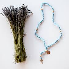 knotted rosary blessed is she knotted rosary blessed is she