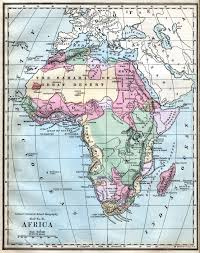 Nigeria Map Africa by Southern Nigeria Protectorate