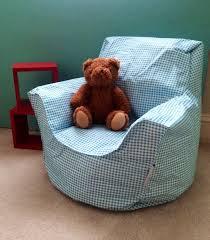 blue toddler bean bag chair klommer