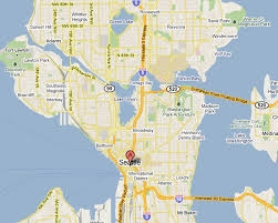 seattle map green lake about waterfront in seattle