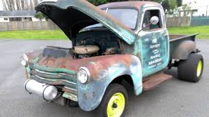 Classic Chevrolet Trucks By Year - 1953 chevrolet gasser pickup youtube