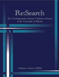 re search the undergraduate literary criticism journal at the