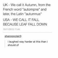 leaf fall down meme by damalos memedroid