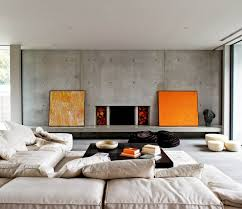 living room bean bags fancy design ideas using rectangle black wooden tables and round